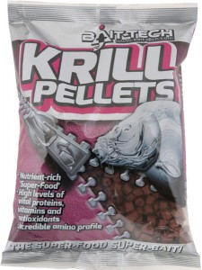 Bait-Tech Pellet Krill Pellets Drilled 8m | 900g