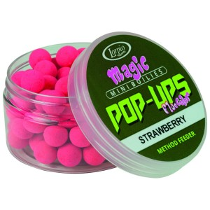 Kulki Lorpio Magic Mini Boilies Pop-Up | Strawberry | 10mm