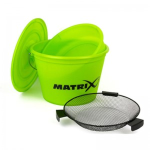 Matrix Zestaw Bucket set inc tray Lime