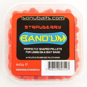 Sonubaits Band Um 7mm - Strawberry