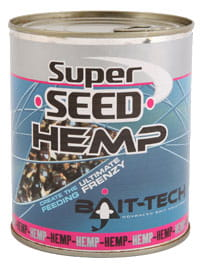 Bait-Tech Konopie Gotowane Superseed Hemp Bait-Tech 350g