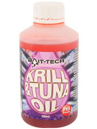 Atraktor Bait-Tech Krill & Tuna Oil 500ml
