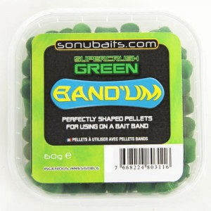 Sonubaits Band Um 8mm - Supercrush Green
