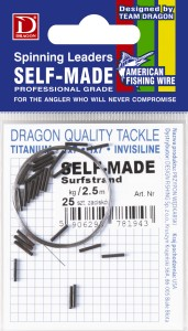 Materiał przyponowy Dragon 7x7 Surfstrand American Fishing Wire 6kg Self-Made 2,5m